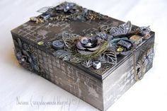 Altered Box http://scrapuleuxmonde.blogspot.fr/2015/08/video-boite-sucre.html