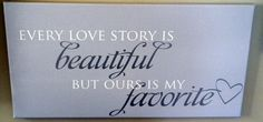 Ours is my fave <3 #uppercaseliving #art #homedecor #vinyl #inspiration #wallwords #decals #beckymasson #love #bedroom