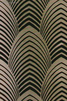 Art Deco Wallpaper: En dan graag geschikt om een jasje mee te maken...
