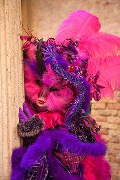 Carnivale mask & costume ~ 23857 - ID: 13735715 © Jim  Zuckerman