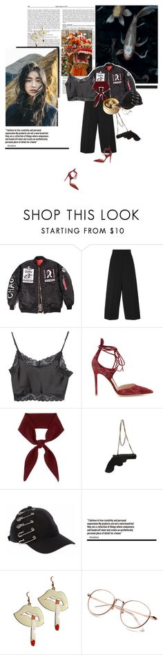 """""""Elixir"""" by la-rosy ❤ liked on Polyvore featuring Jil Sander, Brandy Melville, Gianvito Rossi, Chloé and Yves Saint Laurent"""