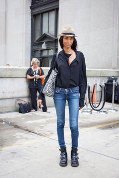 Anais Malis New York la semaine de la mode modèle hors service