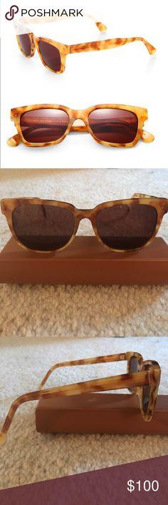 Retrosuperfuture Sunglasses Retrosuperfuture America Sunglasses in Yellow/orange tortoise. Vintage vibes. No case or cloth. Perfect condition. Accessories Sunglasses