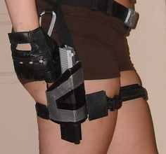 HOW TO MAKE THE TOMB RAIDER UNDERWORLD / TEMPLE OF OSIRIS BELT AND HOLSTERS - laracroftcosplay.com Cosplay pics, help and more!
