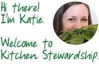 Welcome!  Meet Katie.