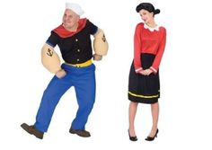 Popeye & Olive Oyl Ml Adult Couples Costume Set: http://www.worldofadultcostumes.com/Couples.html