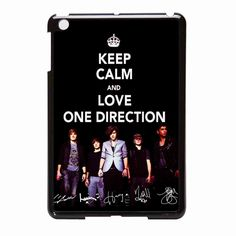 Keep Calm And Love 1d One Direction 2 iPad Mini Case