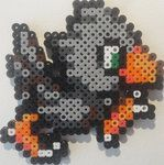 Chocobo Bead Art by Exodecai101