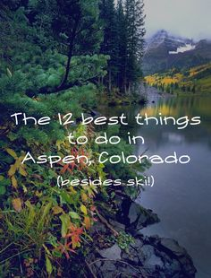 Tucked into the heart of the White River National Forest, Aspen is well known as a ski destination, but the town has so much more to offer. Here are 12 terrific things to do the next time you are in Solo Travel, Us Travel, Family Travel, Christmas In Italy, Travel Advise, Aspen Colorado, Need A Vacation, Camping Activities, New Things To Learn