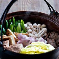 Beef Sukiyaki Hot Pot -  Harris Salat Japanese Hot Pots Cookbook