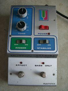 Octaver mutron #pedal #guitar