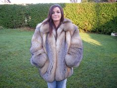 fox fur jacket | eBay