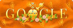 Ganador del concurso Doodle for Google en Rusia Kings Day, Google Doodles, Art Nouveau, Modern Art, Graphic Design, Fine Art, Sculpture, Christmas Ornaments, My Favorite Things