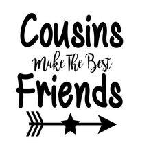 Cousins Make The Best Friends Boy Version by CentralBoutique on Etsy Best Cousin, Boy Best Friend, Friendship Images, Best Friendship Quotes, Cousin Tattoos, Cousin Quotes, Friend Quotes, Cousin Gifts, Vinyls