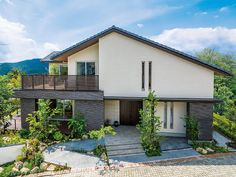 Architecture in Japan Japan Architecture, Architecture Design, Mediterranean House Plans, House Elevation, Industrial House, Japanese House, My Dream Home, Custom Homes, Interior And Exterior