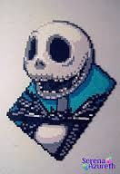 nightmare before christmas perler beads - Google Search