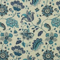 Linen Upholstery Fabric, Furniture Upholstery, Linen Pillows, Cushions, Art Chinois, Spring Mix, Floral Curtains, Floral Fabric, Art Japonais