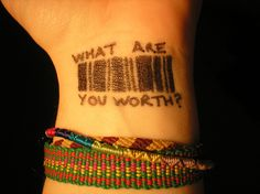 What is a human life worth? Human trafficking (slavery) is NEVER okay.