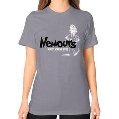 Nemours Nurses Unisex T-Shirt (on woman)