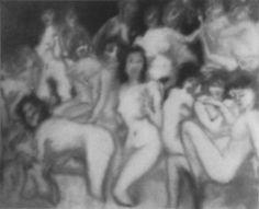 Bathers, Gerhard Richter, 1967