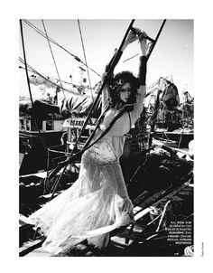 Sea Reines | Heloise Guerin | Cedric Buchet photography  #Elle #France N°3475 3rd August 2012  #www.frenchriviera.com