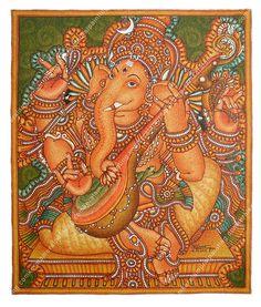 Maha ganapati mool mantra is a very powerful healing for Mural ganapathi