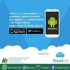 Coming soon... digital informasi & komunikasi #aplikasi #android #healink #rsmeilia #cibubur #depok #cileungsi #bekasi #bogor #jakarta