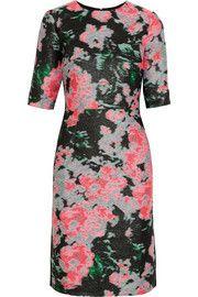ErdemIvy silk-blend jacquard dress