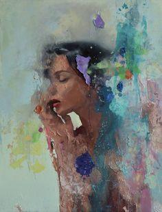 "Saatchi Art Artist Jesùs Leguizamo; Painting, ""Assumption"" #art"