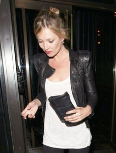 Kate's leather jacket