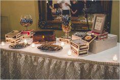 Wedding Cigar Bar and Groom's Cake!
