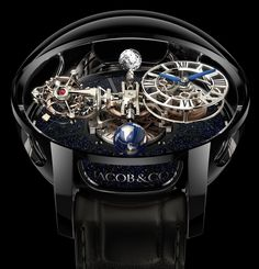 Loving the new look of the Astronomia Tourbillon Black PVD ? Be ready to rock your wrist, Spring 2016 ! Horological Revolution by Jacob & Co. , #uniquelyspectacular piece that continues to revolutionize world of Jewelry and Haute Horology. #Jacobandco #Astronomia #luxurywatches
