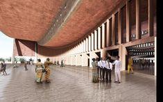 Adjaye . new National Cathedral . Accra (6)