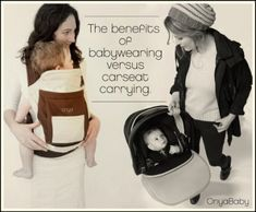 Baby-wearing vs. Carseat-carrying