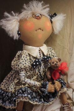 Мы с Мишулькой! - примитив,примитивная кукла,примитивы,текстильная кукла