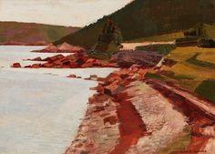 Alan Collier - Terra Nova Shore 12 x 16 Oil on board Canadian Artists, Cool Photos, Nova, Amazing, Painting, Board, Painting Art, Paintings, Painted Canvas