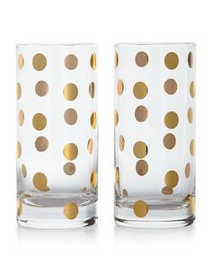 Dot glassware by kate spade http://rstyle.me/n/tmc36n2bn