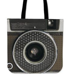 4601d10a4a These custom pattern linen tote bags featuring vintage cameras are perfect  for anyone that loves taking