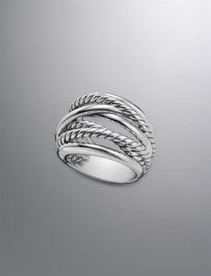 David Yurman Crossover Ring. My favorite ring.