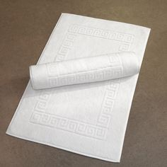 hotel style bath mat