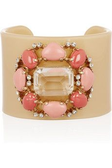 Channeling a classic Verdura cuff that Coco Chanel or Diana Vreeland would wear, this cuff from J. Crew is a great affordable homage.