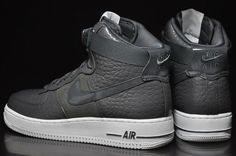 Nike Air Force 1 High Premium  Grey Snakeskin