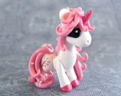 Cherry Blossom Pony by DragonsAndBeasties.deviantart.com on @deviantART