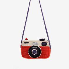 Crochet camera.