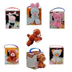 caja con peluche con iman en las patas para pegar en neveras $ 3.900 al por mayor por cada uno.  distribuidor de peluches bogotá,chocolates, afiches, tarjetas, bolsas de regalo, botellas decorativas, detalles en general.