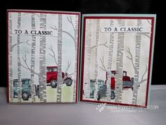 Faux Illusion with Woodland embossing folder Monday, September 2015 Stamp & Scrap with Frenchie: Faux Illusion with Woodland TIEF Video Card Making Tips, Card Making Tutorials, Card Making Techniques, Making Ideas, Tarjetas Stampin Up, Stampin Up Cards, Stampin Up Anleitung, Embossing Techniques, Boy Cards