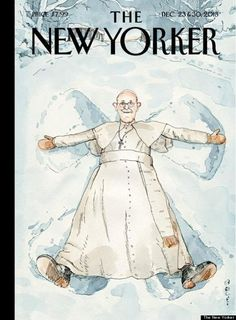 Pope Francis'  New Yorker Cover is just Heavenly.