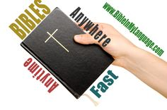 Bibles for everyone!  www.bibleinmylanguage.com