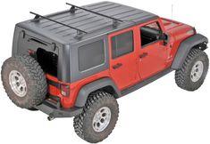 Yakima 8001616 - YAKIMA Hard Top Roof Track Rack for 07-13 Jeep® Wrangler Unlimited JK 4 Door - Quadratec