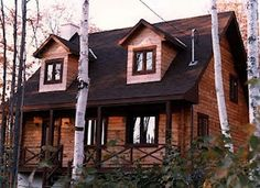 $55,000 Log Cabin Kit from Canada